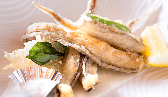 [Fish of vision] Deep-fried astragalus